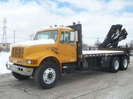 Pre-Owned 2002 International 4900 Bucket/Crane Near Milwaukee #41521 ...