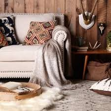 Get The Modern Lodge Look With Natural Furniture And Rustic Decor