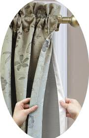 Blackout Curtain Liners Walmart by Home Decoration Gorgeous Ultimate Liner With Tailored Rod Pocket
