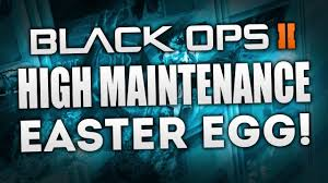black ops 2 zombies die rise high maintenance maxis easter