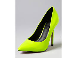 boutique 9 pointed toe platform pumps in yellow lyst
