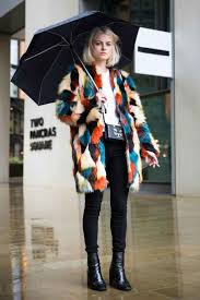 Showgoers Suit Up For London Fashion Week Winter Dress FashionWinter Street