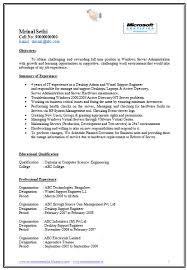 Resume For Desktop Engineer Foolishly Perched Gq Support Sample