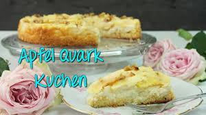 apfel quark kuchen rezept apfelkuchen mit quarkschicht backen einfach schnell kuchenrezepte