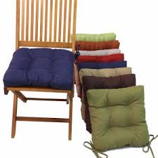 Dining Room Amusing Chair Cushions With Ties For Pertaining To