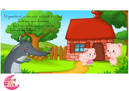 Les 3 Petits Cochons Coloriage Coloriage Les Trois Petits Cochons