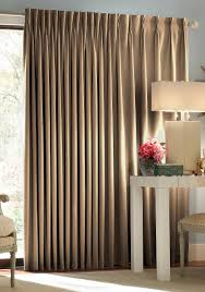 Patio Door Curtains For Traverse Rods by Blackout Thermal Patio Door Curtain Panel Online Only Belk