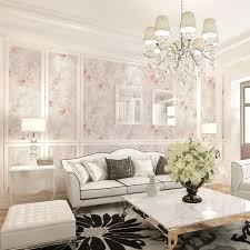 الكلاسيكية غرفة المعيشة خمر الأزهار خلفية الوردي زهرة فتاة غرفة خلفيات لفة الايطالية الريفية نمط 3d تنقش ورق الحائط