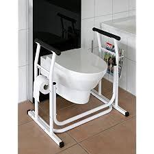 wc aufstehhilfe mobiles toiletten stützgestell haltegriff