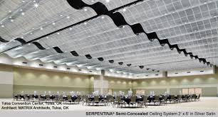 Armstrong Acoustical Ceiling Tile Specifications by Serpentina Semi Concealed Ceiling System By Armstrong