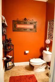 Dark Teal Bathroom Ideas by Best 25 Orange Bathrooms Designs Ideas On Pinterest Orange