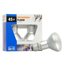shop sylvania 2 pack 45 watt indoor dimmable soft white r20