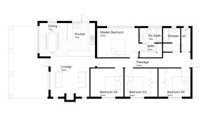 Plush 4 Bedroom House Plans Zimbabwe 7 Chidonga On Modern Decor Ideas