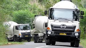 Ready Mix Concrete Mixer Cement Truck Uphill Commercial Wheelbarrow ...