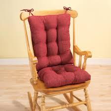 100 Greendale Jumbo Rocking Chair Cushion Pads Set Large Size