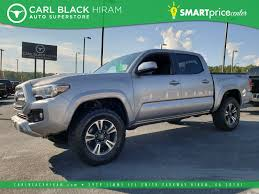 Pre-Owned 2017 Toyota Tacoma TRD Sport Crew Cab Pickup In Hiram ... 2018 Toyota Tundra Trd Sport Exterior And Interior Walkaround Preowned Toyota Truck Highlander Le Utility In Hollywood 2017 Tacoma Crew Cab Pickup Hiram Sport Double 5 Bed V6 4x4 At Truck Youtube Review 2015 Is Your Weekend Getaway Bestride New I Tuned Suspension Nav 4 1980 4wd 49k Original Miles Paint 2016 Offroad Vs Mishawaka Jm173303