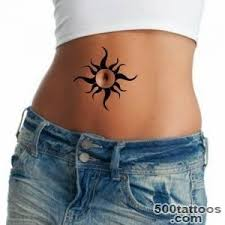 Belly Button Tattoos Design Idea Image
