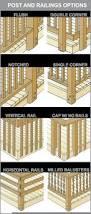 Horizontal Deck Railing Ideas by Best 25 Deck Railings Ideas On Pinterest Decks Deck Design And