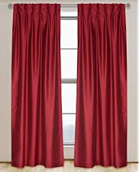 Simply Shabby Chic Curtain Panel by Amazon Com Simply Shabby Chic Faux Silk Pleat Window Panel Gray