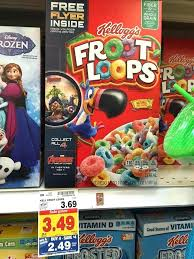 Froot Loops Box Fruit A At Bird On Crossword