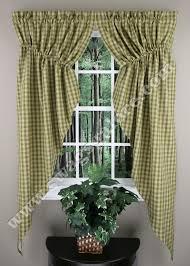 Sturbridge Curtains Park Designs Curtains by Sturbridge Gathered Swag Green Park Designs Kitchen Valances
