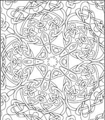 Celtic Kaleidoscope Design Poster To Color By Lee Hansen For Clip
