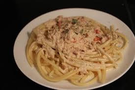 recette de pate au thon recette spaghettis au thon et à la crème toutes les recettes