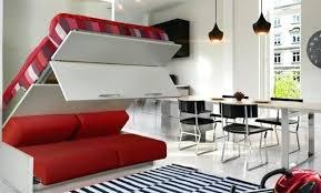 lit superpose clic clac lit mezzanine 2 places avec banquette clic