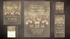 Romantic Rustic Diy Wedding Invitation
