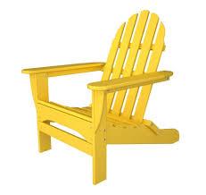 Polywood Adirondack Chairs Folding by Polywood Classic Folding Adirondack Chair