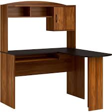Sauder Shoal Creek Desk Jamocha Wood by Student Computer Desk W Hutch Home Office Table Furniture Corner