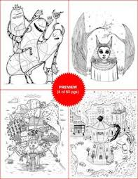 Doodlers Anonymous Coloring Book Volume 3 Br