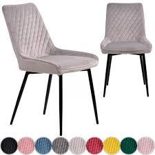 iomangio esszimmerstuhl samt küchenstuhl wohnzimmerstuhl viele farben
