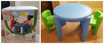 100 Playskool Plastic Table And Chairs Little Acecatorg