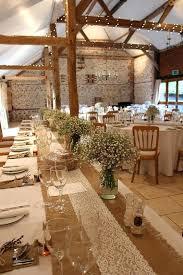 Rustic Table Decoration Burlap Decorations Shabby Chic Wedding