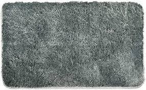 wohndirect badematten zum set kombinierbar badvorleger 60 x 100 cm badteppich rutschfest waschbar grau