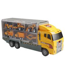 100 Loader Truck 11 Mini Vehicles In 1 Construction Vehicle Car Toy Set