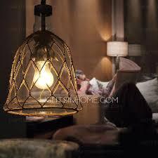 loft blown glass mini pendant lights for kitchen