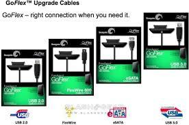 Seagate Goflex Desk Adapter Driver by Seagate Goflex Adds Swappable Usb 3 0 Esata Firewire Cables Media