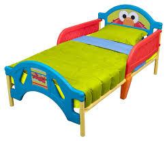 Delta Children Sesame Street Plastic Convertible Toddler Bed