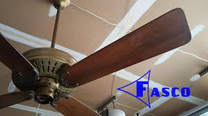 Sloped Ceiling Adapter For Ceiling Fan by Fasco Charleston Ceiling Fan Youtube