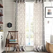 semi sheer curtains 108 renegade curtain drapery panel muarju