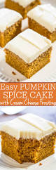 Pumpkin Cake Mix by Easy Pumpkin Spice Cake With Cream Cheese Frosting Averie Cooks