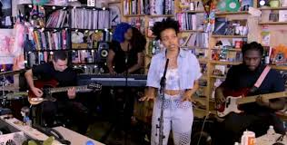 Jamila Woods Performs Tiny Desk Concert For NPR