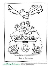 Free Printable Earth Day Coloring Pages At Shirts