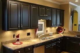 Awesome Painting Kitchen Cabinets Dark Vintage Styles