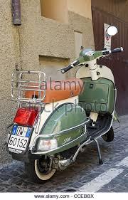 Indian LML Star Scooter Parked In Castel Gandolfo