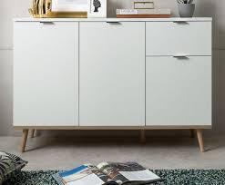 kommode sideboard weiß eiche massiv göteborg 120 x 85 cm wohnzimmer esszimmer