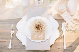 Elegant Rustic Wedding Place Setting