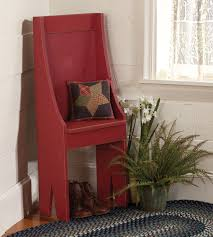 Primitive Entryway Chair